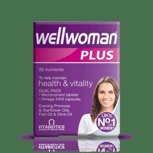 vitabiotics wellwoman plus