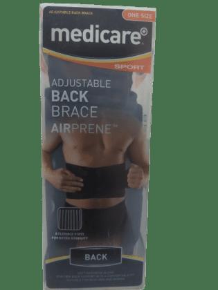 medicare sport adjustable back brace